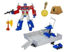 Transformers Masterpiece Optimus Prime (Reissue With Trailer & Vector Sigma Gift Set)