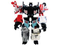 Transformers Unite Warriors UW-03 - Defensor with Exclusive Groove & Collector Coin