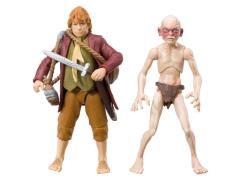 "The Hobbit 3.75"" Figure Two-Pack Series 01 - Bilbo Baggins & Gollum"