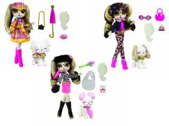 Pinkie Cooper Travel Collection Doll With Pet - Set of 3