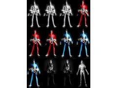 1/12 Scale Microman String Divers - Case of 12