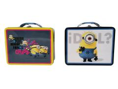 The Minions Large Tin Carry All - Set of 2