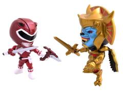 Power Rangers Red Ranger (Metallic) With Goldar Mini Figures SDCC 2015 Exclusive