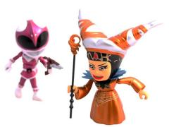 Power Rangers Pink Ranger With Rita (Metallic) Mini Figures SDCC 2015 Exclusive
