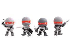 TMNT Battle Damaged Mini Figure Four Pack SDCC 2015 Exclusive