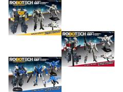 Robotech 30th Anniversary 1/100 Scale Heavy Armor GBP-1 Transformable Figure -  Set of 3