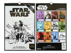 Star Wars: The Force Awakens 2016 Oversized Wall Calendar