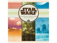 Star Wars 2016 Collectors Edition Wall Calendar