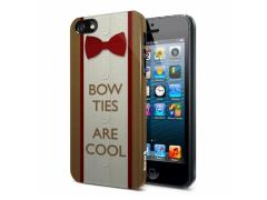 Doctor Who iPhone 5 Case - Bow Ties Are Cool