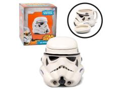 Star Wars Figural Mug With Lid - Stormtrooper
