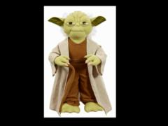 "Star Wars 15"" Yoda Deluxe Talking Plush (Boxed)"