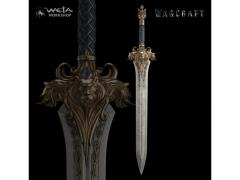 Warcraft King Llane's Sword 1/1 Scale Prop Replica