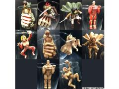 Attack on Titan Mini Figure Glass on Titan 01 Box of 10 Figures