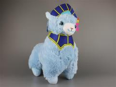 "12"" Tiger & Bunny Cosplay Alpaca Plush - Blue Rose Hero Suit"