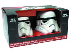 Stormtrooper Molded Bank & Mug Set