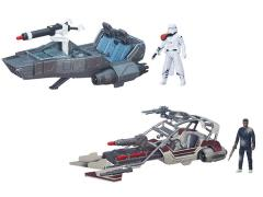 "Star Wars 3.75"" Class II Vehicle Wave 1 Set of 2"