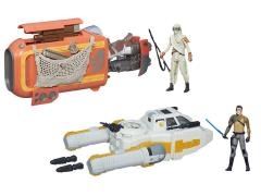 "Star Wars 3.75"" Class I Deluxe Vehicle Wave 01 - Set of 2"