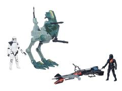 "Star Wars 3.75"" Class I Vehicles Wave 1 Set of 2"