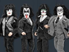 "KISS Dressed To Kill 8"" Set of 4 Figures"