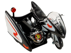 Batman Classic TV Series Premium Hot Wheels 1:50 Scale Batcycle
