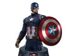 Captain America: Civil War Resin Paperweight Bust - Captain America