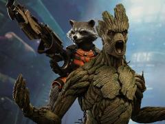 Guardians of the Galaxy MMS254 Rocket and Groot 1/6th Scale Collectible Figures Set