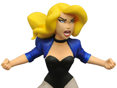 Justice League Animated Black Canary Gallery Statue