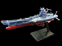 Space Battleship Yamato 2202 Mecha Collection U.N.C.F. Yamato 2202 (Clear) Exclusive Model Kit
