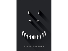 Marvel Black Panther High Gloss Canvas Art