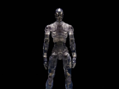 TOA Heavy Industries Synthetic Human (Clear) 1/12 Scale Figure SDCC 2017 Exclusive