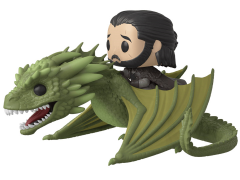 Pop! Rides: Game of Thrones - Jon Snow On Rhaegal
