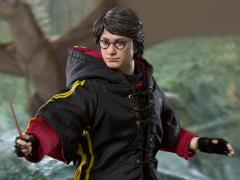 Harry Potter Real Master Series Harry Potter 1/8 Scale Figure (Battle Ver. with Light Up Wand)