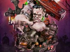 Monster Frankenstein Forever Love Statue