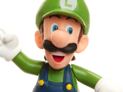 "World of Nintendo 2.50"" Luigi (Running) Limited Articulation Figure"