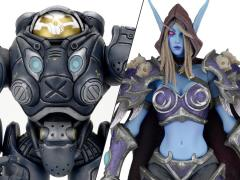 Heroes of The Storm Series 03 Set of 2 Figures (Jim Raynor & Sylvanas Windrunner)
