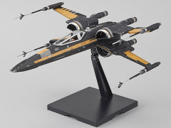 Star Wars: The Last Jedi Poe's Boosted X-Wing Fighter 1/72 Scale Model Kit