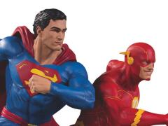 DC Gallery Superman Vs. The Flash Racing Limited Edition Statue