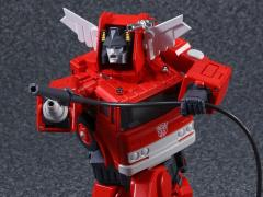 Transformers Masterpiece MP-33 Inferno (With Mini Metal Optimus Prime)