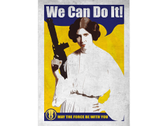 Star Wars Galactic Propaganda We Can Do It Displate Metal Print