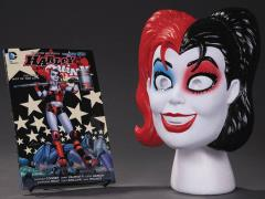 Harley Quinn Book & Mask Set
