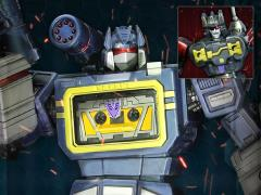 Transformers Generation 1 Soundwave with Frenzy & Ratbat BBTS Exclusive Limited Edition Statue