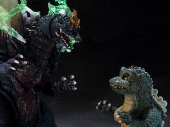 Godzilla S.H.MonsterArts SpaceGodzilla & Godzilla Junior (Special Color Ver.) Exclusive