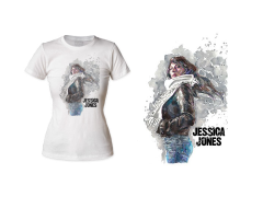 Marvel Jessica Jones T-Shirt (Womens)