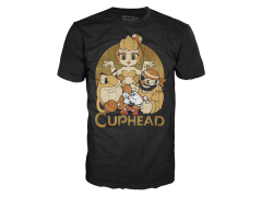 Pop! Tees: Cuphead - Cuphead and Bosses