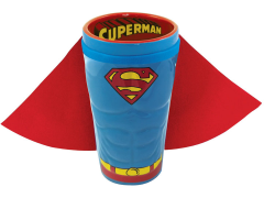 DC Comics Superman Caped Molded Pint Glass