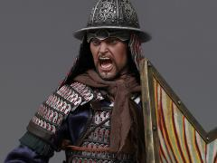 Ming Dynasty Series Qi Troop Walk Camp Guard Leader 1/6 Scale Figure