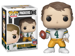 Pop! NFL Legends: Packers - Brett Favre (Away)