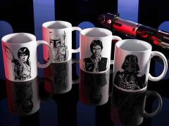 Star Wars 11 oz Coffee Mugs Set of 4 - USA ONLY