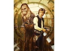 Star Wars Han and Chewie Limited Edition Giclee