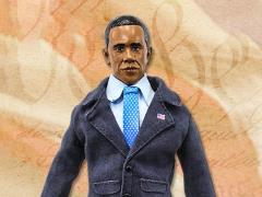 "World's Greatest Presidents Barack Obama (Blue Suit) 8"" Retro Figure"